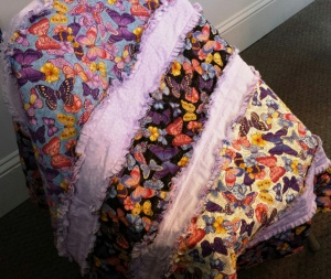 Rag Quilt for Jeanie