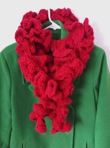Ruffled Scarf in Crochet