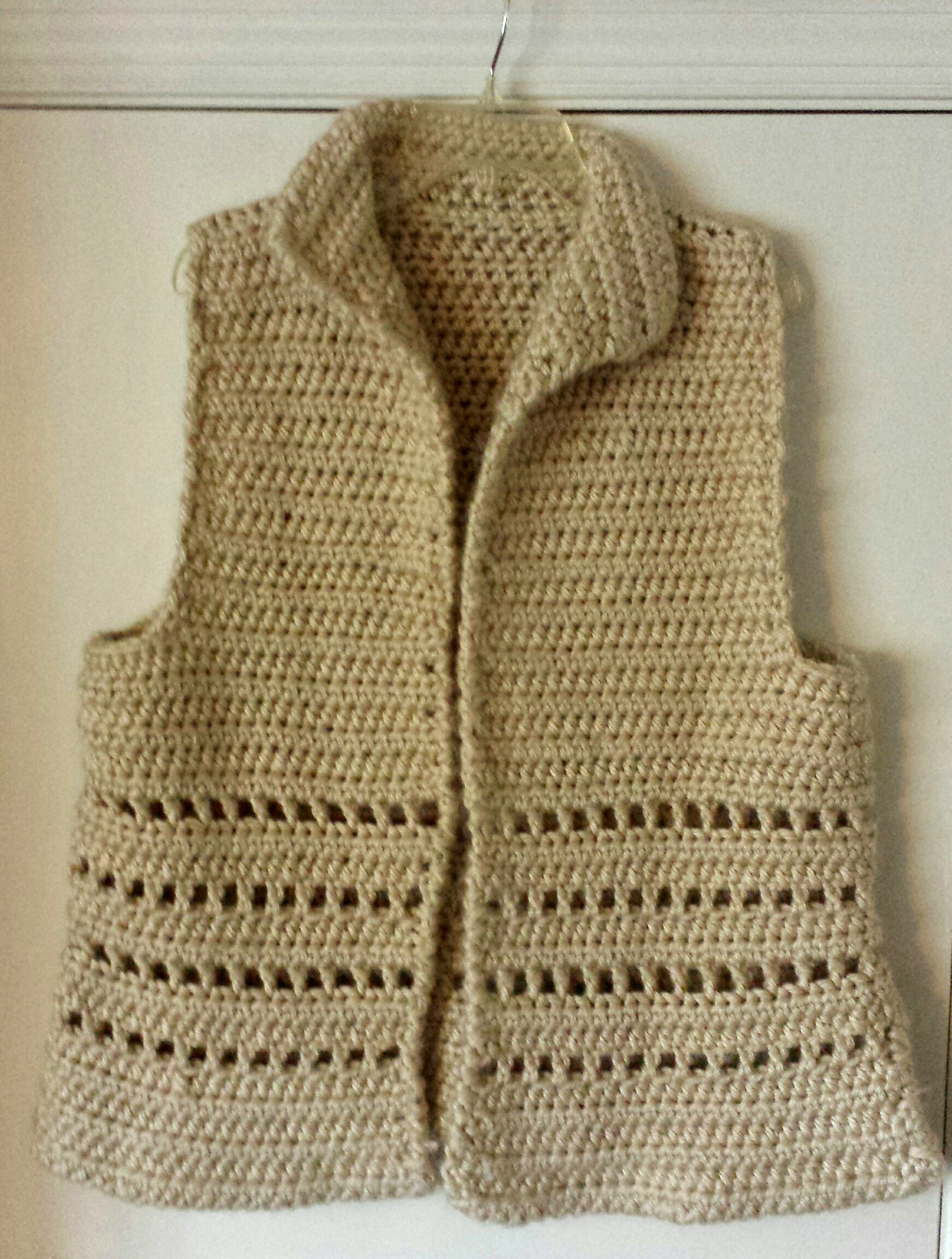 Vest In Bulky Yarn