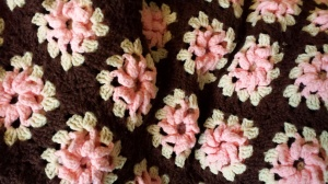 Granny Square with Flower made by Big Mama