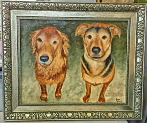 Completed Pet Portrait