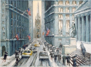Guy Wiggins, Snow on Wall Street