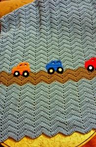 Example of ripple stitch