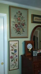 Treasures on wall