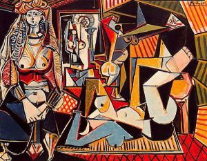 Picasso's Women of Algiers, 1954-55