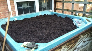 Garden soil and compost