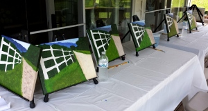 CITR Retreat Easels