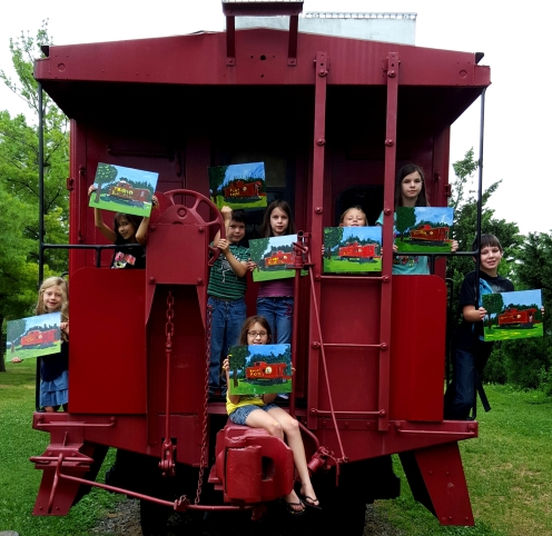 Art Camp Train