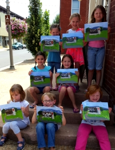 Art Campers - ages 5-6 Paint Shenandoah National Park
