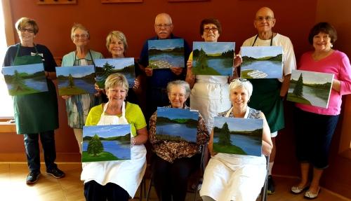 Lake Frederick Painters