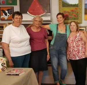 Ruth, Sandra, Tammy & Cindy...terrific teachers!