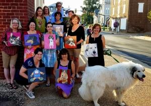 September Paint Your Pet's Portrait Party