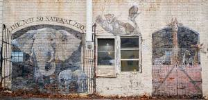 """Not So National Zoo"" Mural by Pat Windrow"