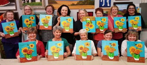 Famous Painters Party - Van Gogh Sunflowers