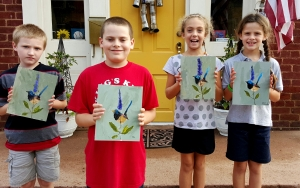 Kids Bird painting