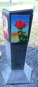 Side of Memorial  4