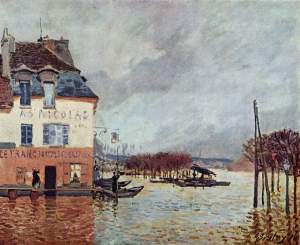 Flood at Port-Marly (1876)