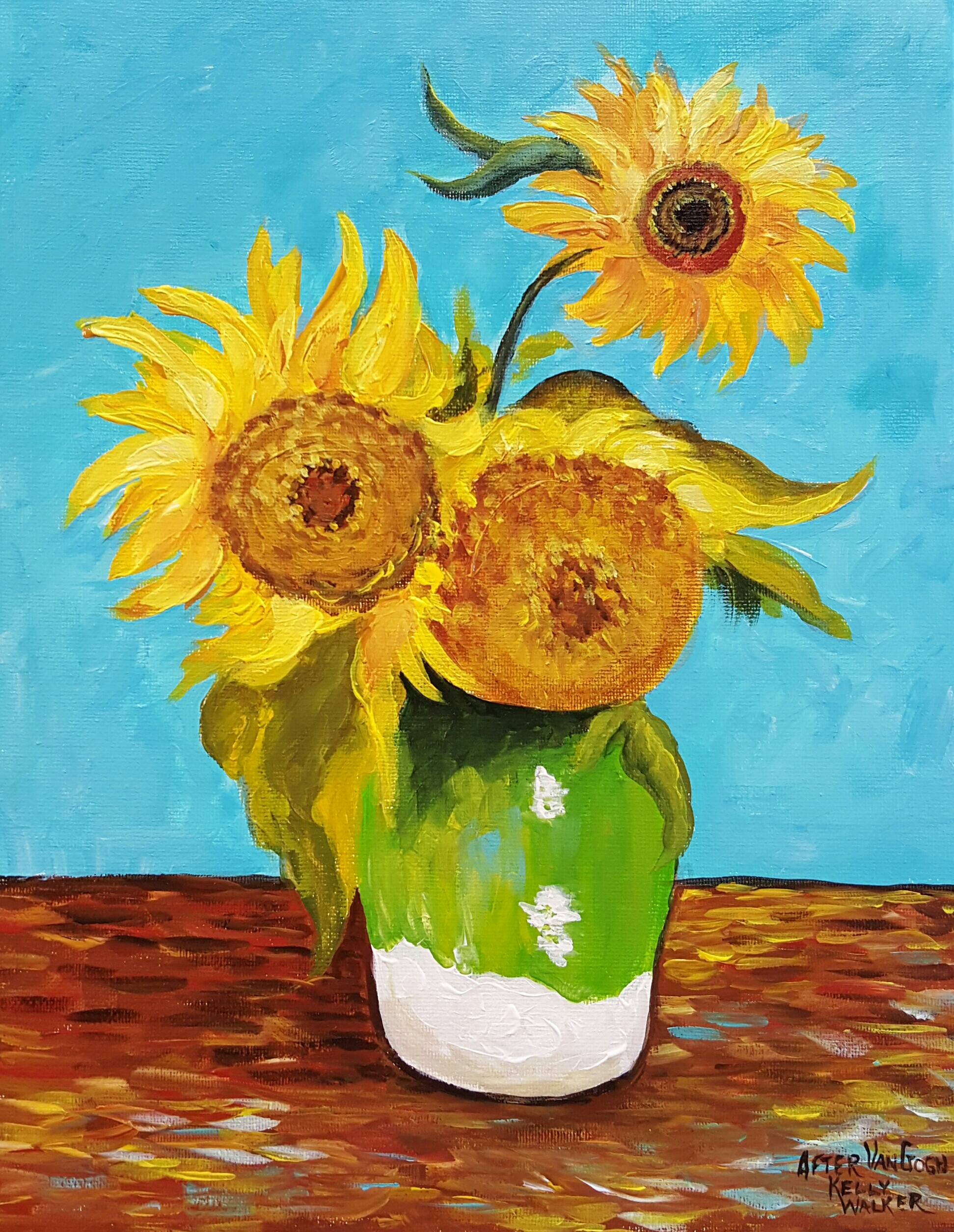 Van gogh in nyc and at home a place for learning van gogh sunflowers van goghs irises reviewsmspy