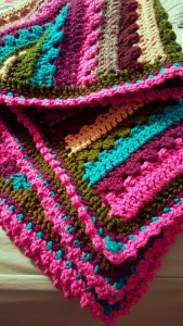 Blanket with edging