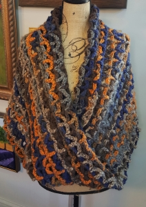 Wrap in Thick Yarn