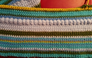 Crochet Temp Blanket January