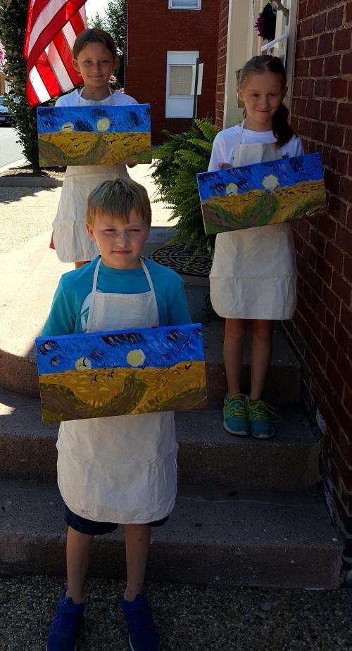 Camp 5 Day 1 Van Gogh Wheatfield