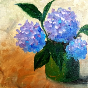 Hydrangea Painting 2