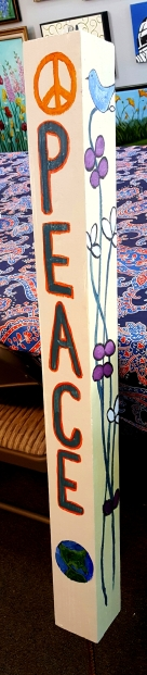 Peace Pole July 3