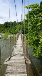 Strasburg Suspension Bridge 1