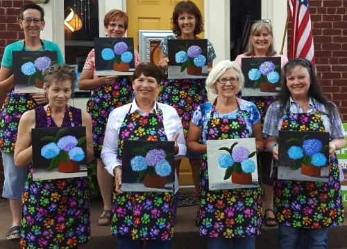 Liz's Hydrangeas Group