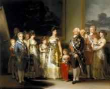 Goya Court Painting