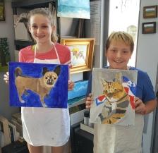 Kids Pet Portraits June 1