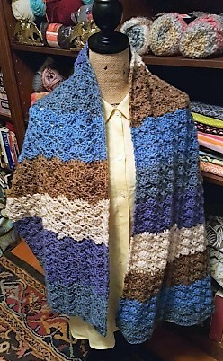 Shawl with Shell (2)