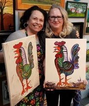 Picasso Rooster 1