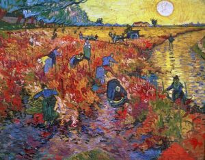 Van GOgh Red Vineyard