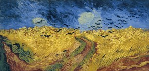 Vincent_Van_Gogh Wheatfield with crows