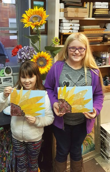 Paper Sunflowers!