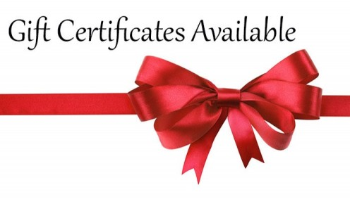 giftcertifiate available