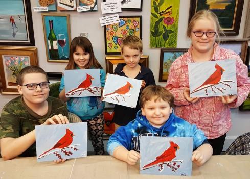 Kids Cardinal
