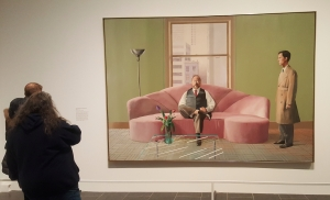 Hockney Portrait 1