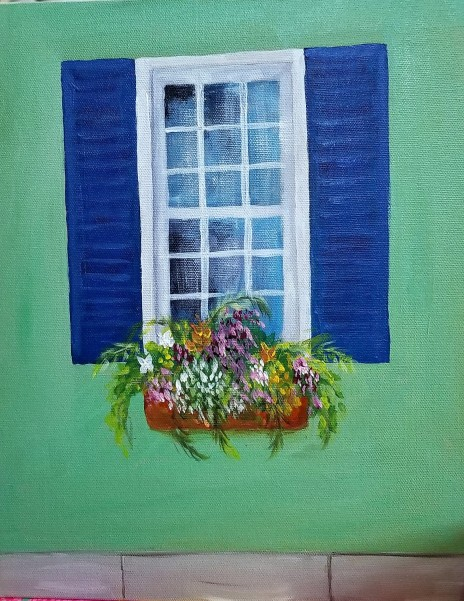 Window Box Green 1
