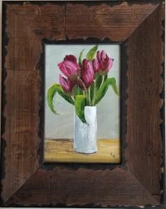 Alizarin Tulips