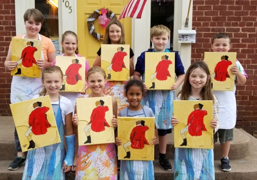Impress Jul 23 Degas age 8-13