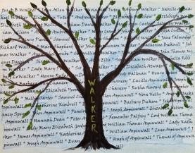 Family Tree 1 Blue