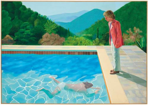 Hockney Pool record sale