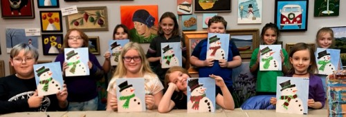 Snowmen by Kids on Nov 28