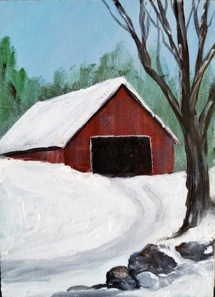 Winter Barn Dec 2018