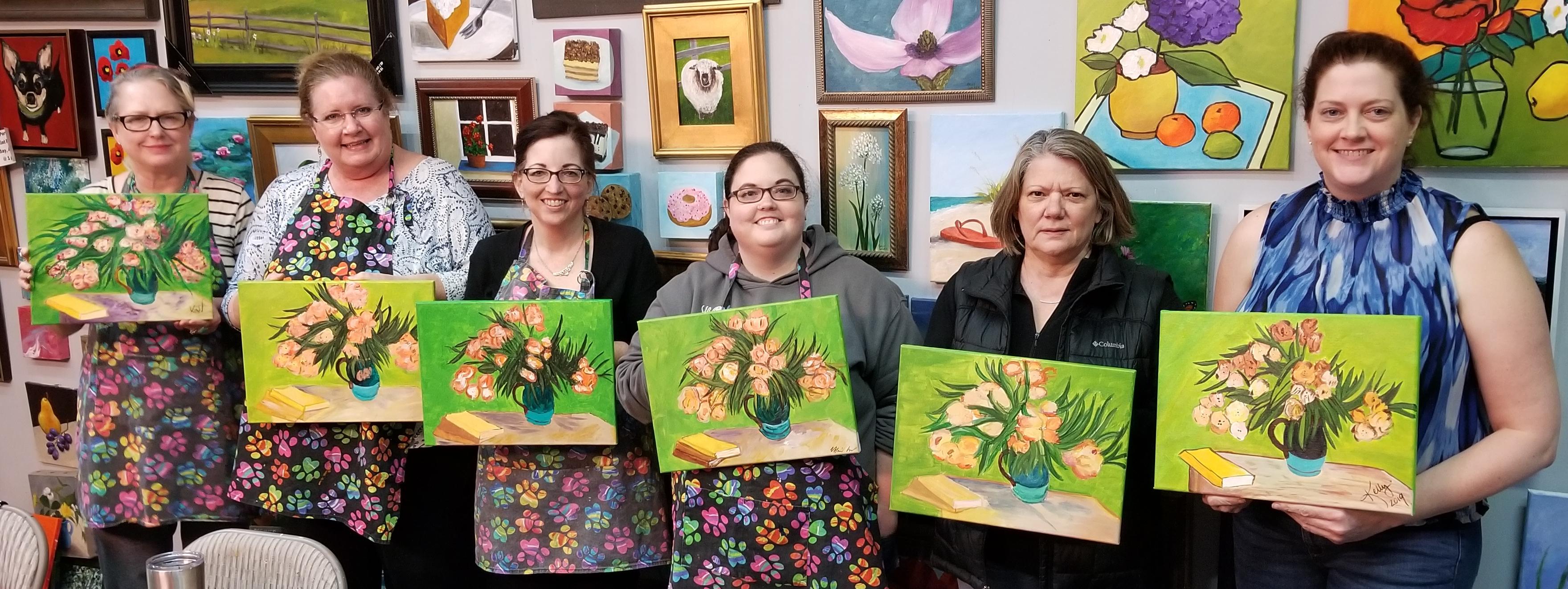 Famous Painters Van Gogh March