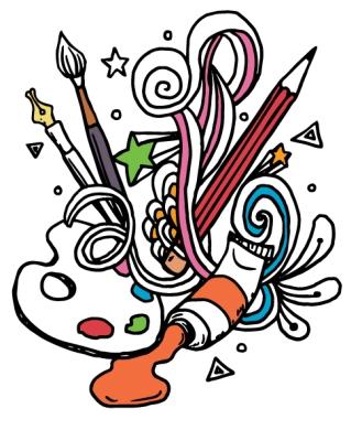 art class clip