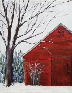 Barn Winter 2020